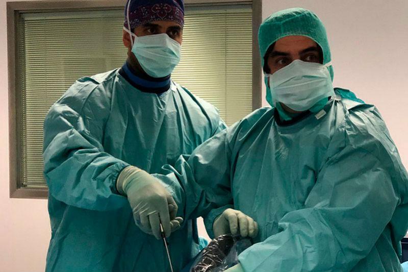 Endoscopia de columna por Ghassan Elgeadi en Portugal