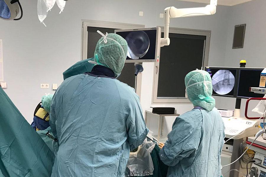 Endoscopia de columna avanzada